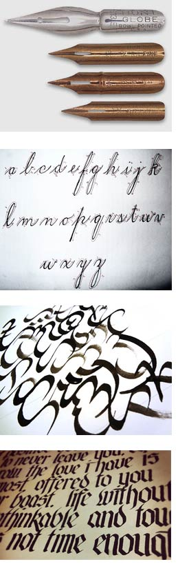 Art tips from artsupply com calligraphy 101 Calligraphy 101