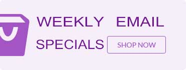 weekly email specials
