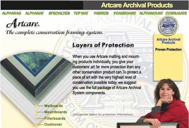 artcare archival acid free foam board